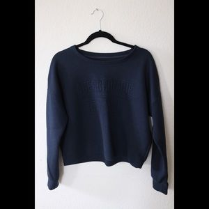 Abercrombie and Fitch Mid-Cropped Sweatshirt